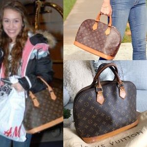 ❣️LOUIS VUITTON❣️Alma Monogram Celebrity